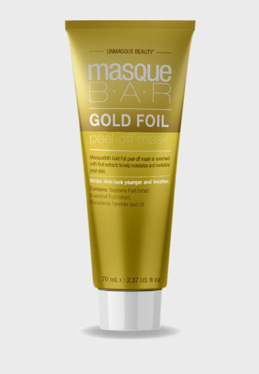 Gold Foil Peel Off Mask Tube 70ml