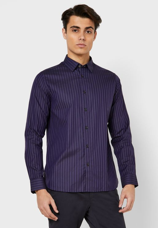 Pardon Striped Shirt