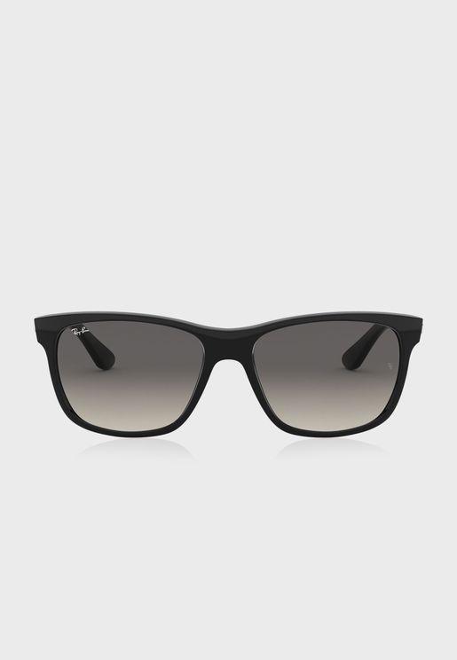 0Rb4181 Oversized Sunglasses