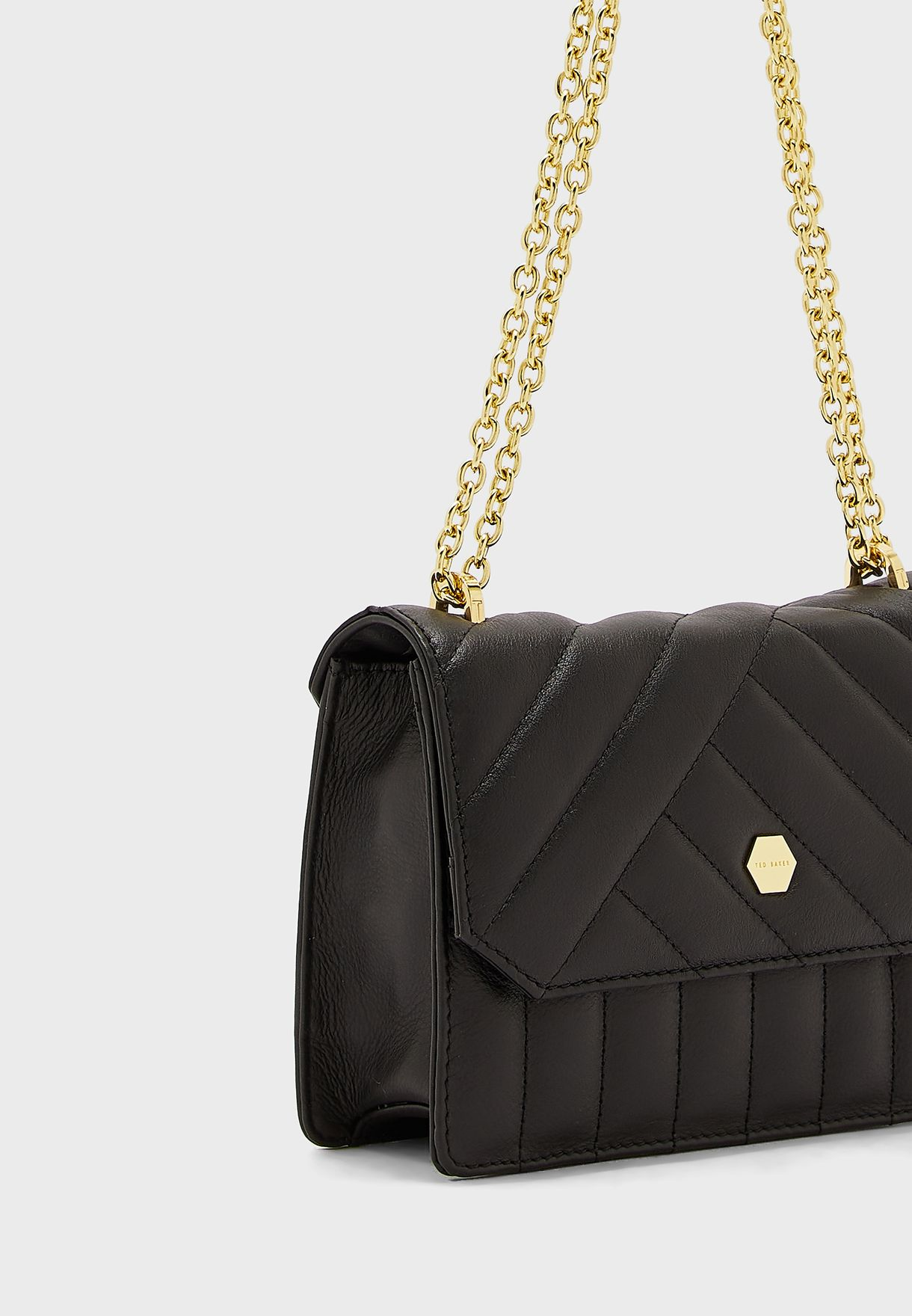 Selbina Quilted Envelope Mini Crossbody