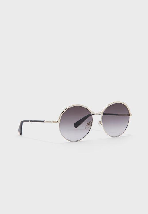 Lo123Sl Oval Shape Sunglasses