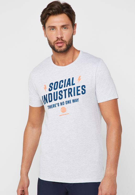 Jam Social Industries Print T-Shirt