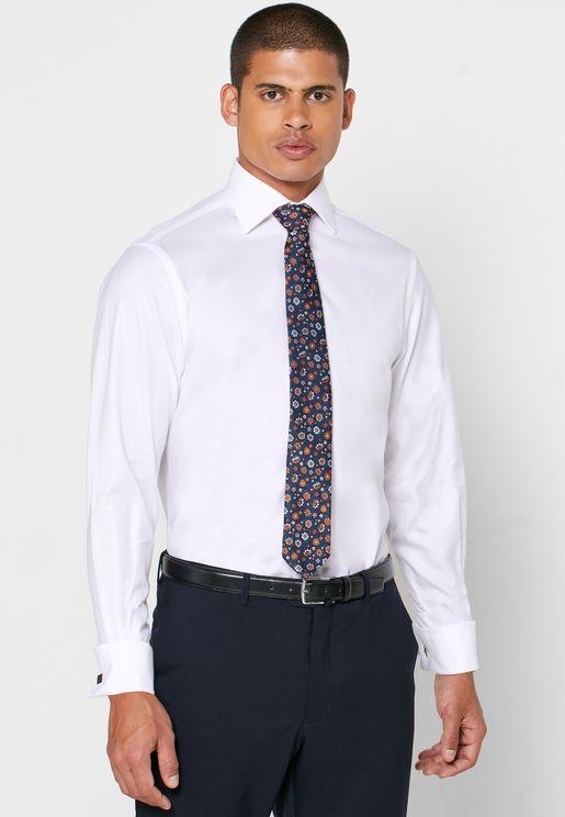 Double Cuff Regular Fit Shirt