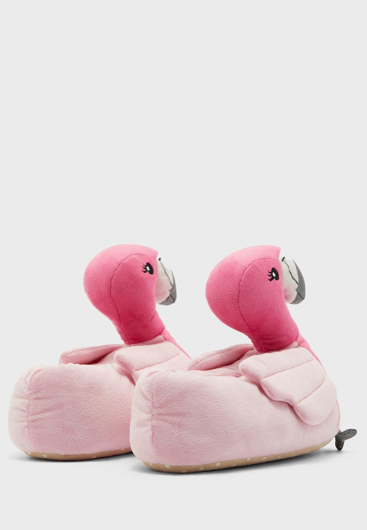 Flamingo Bedroom Slip On
