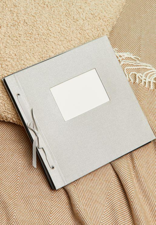 Large Window Silver Photo Album