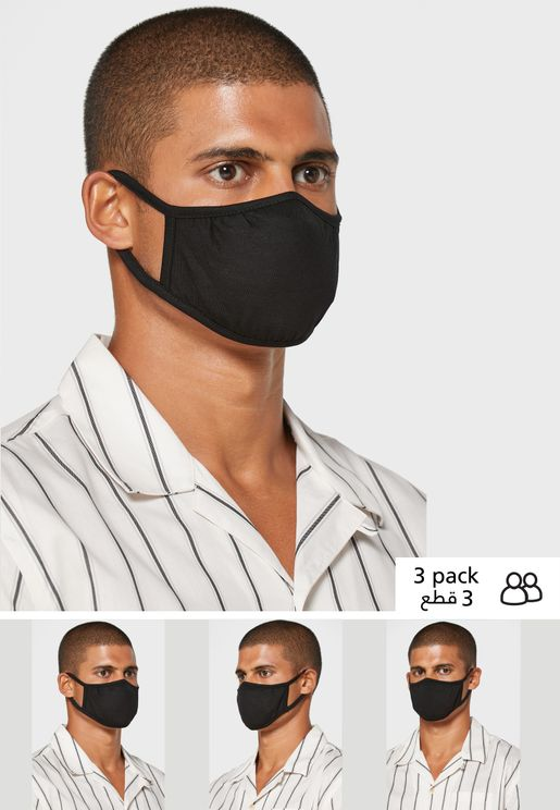 3 Pack Essential Face Mask