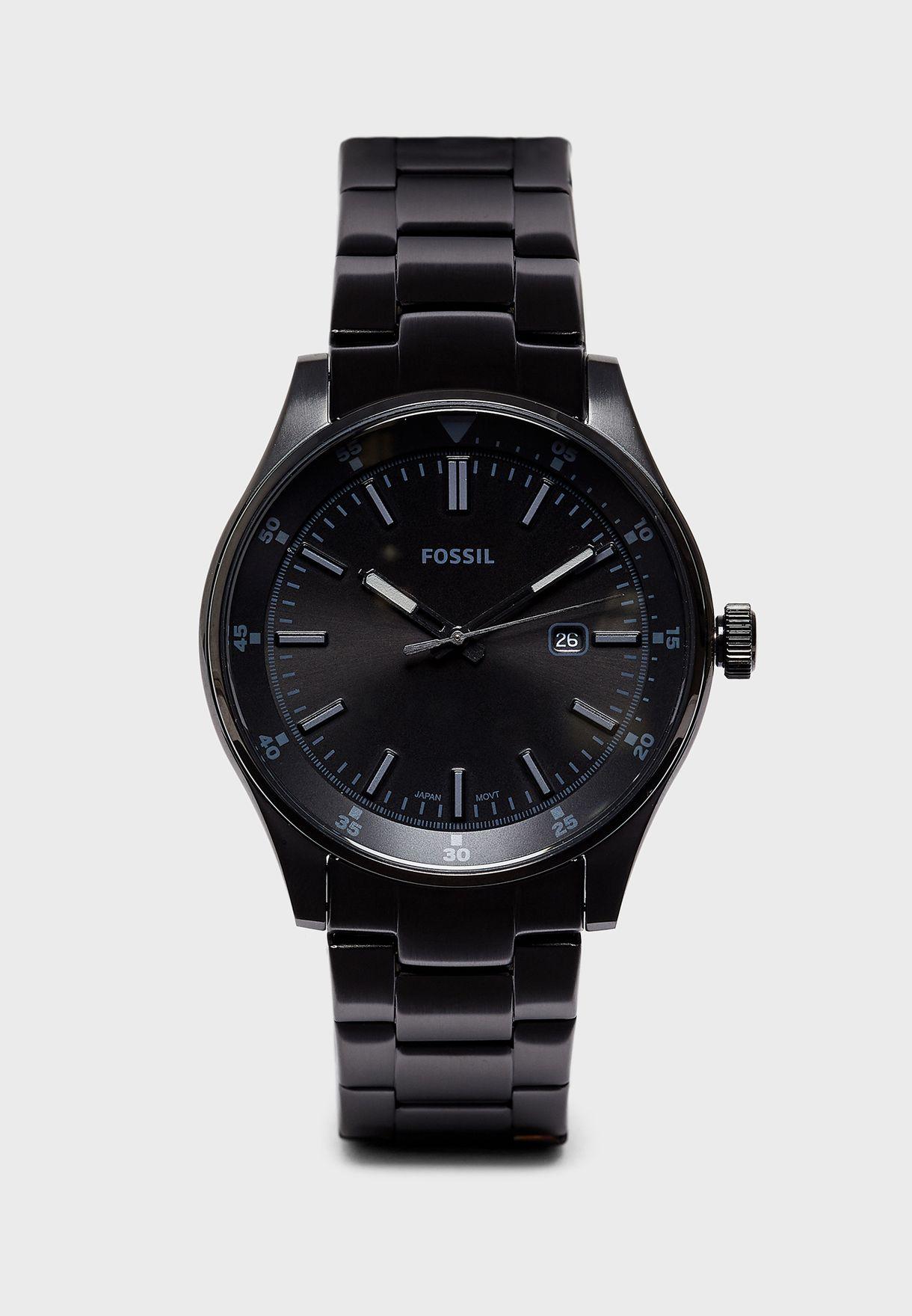616357109 تسوق ساعة أنالوج ماركة فوسيل لون أسود FS5531 في عمان - 14384AC61WYP