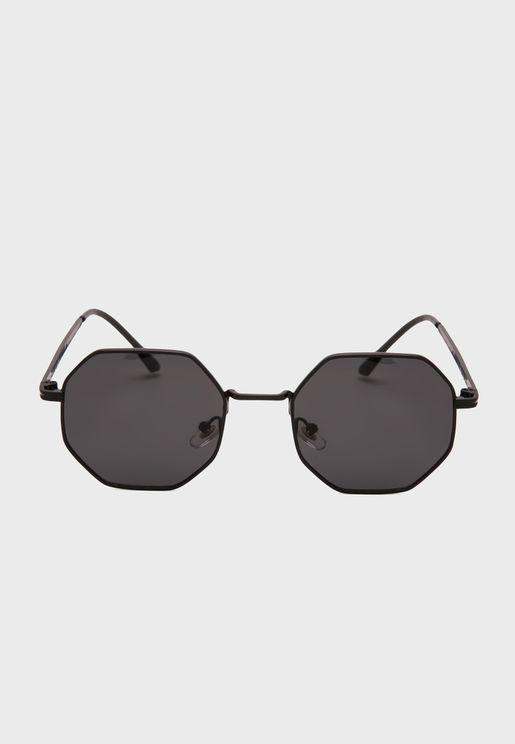 Hexagon Shape Sunglasses