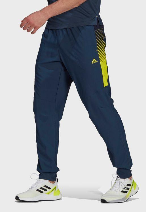 Woven Cuffed Sweatpants