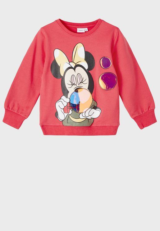 Kids Minnie Sweatshirt