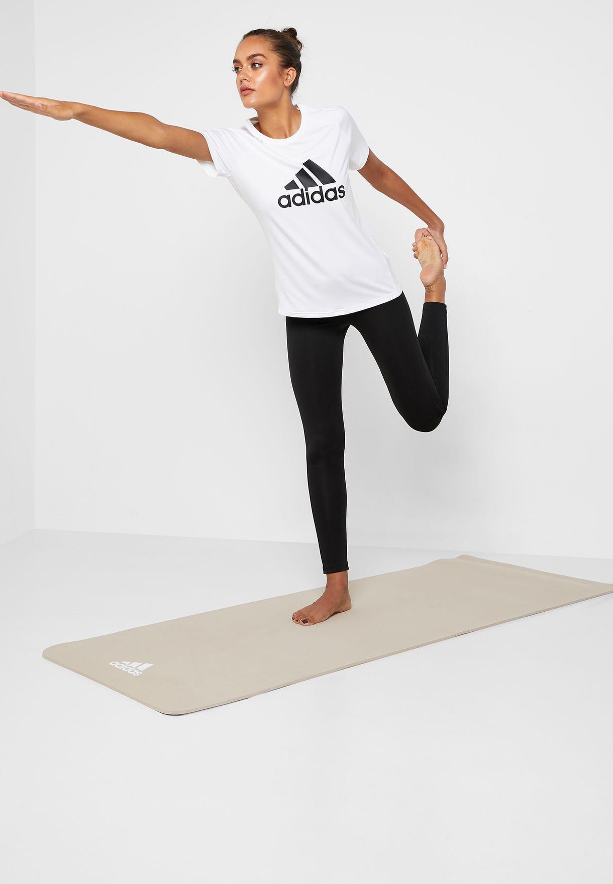 Buy Adidas Grey Yoga Mat 8mm For Women In Mena Worldwide Globally 14448ac61zkp