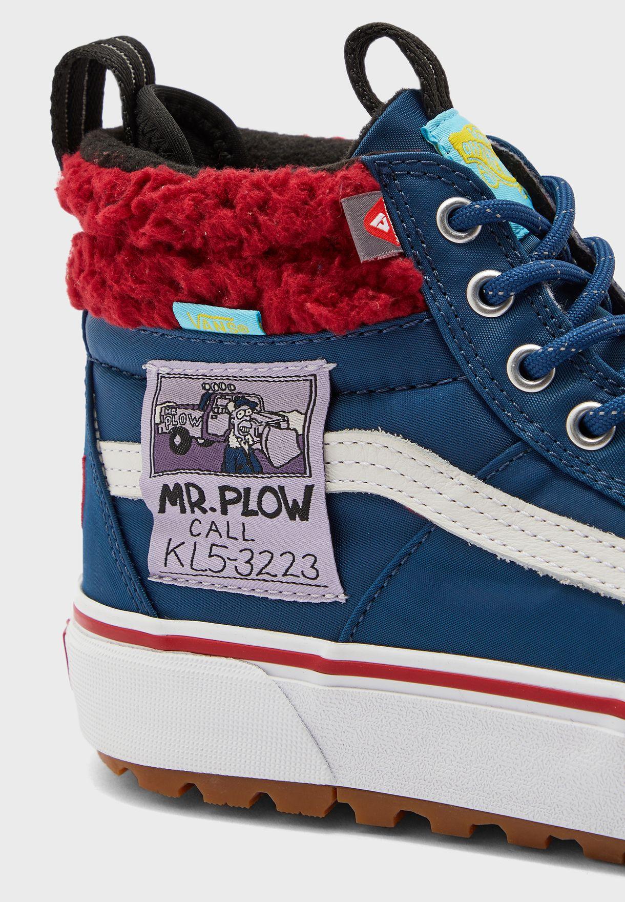 Simpsons Mr. Plow SK8-Hi MTE 2.0 DX
