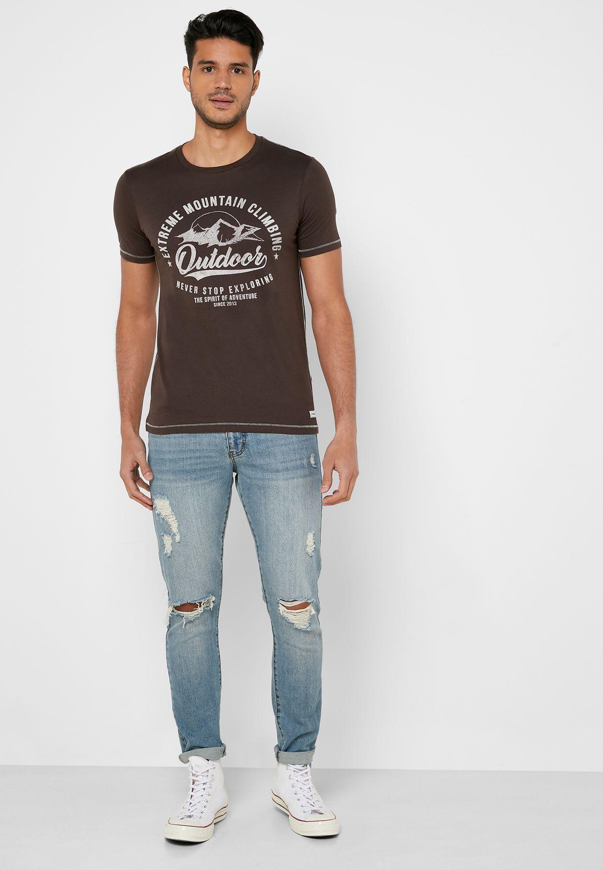 Adrian Crew Neck T-Shirt