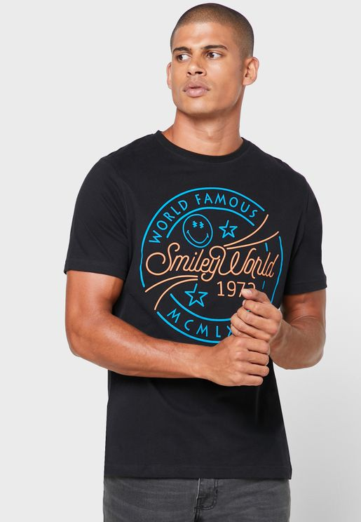 World Famous Crew Neck T-Shirt