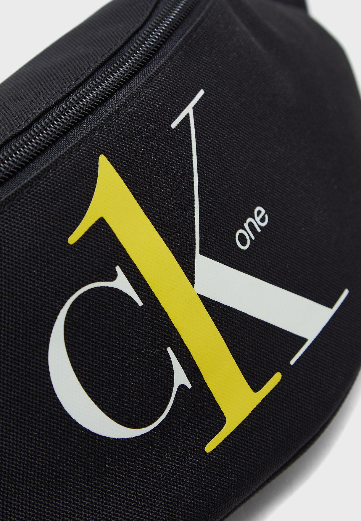 CK One Logo Messenger Bag