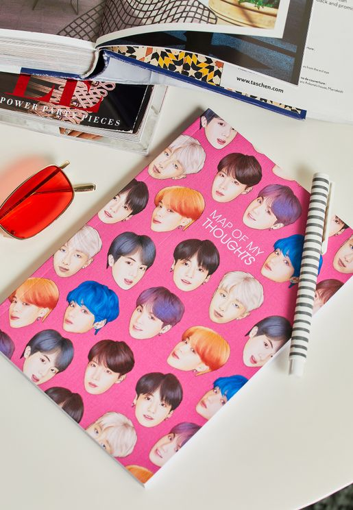 A5 BTS Notebook