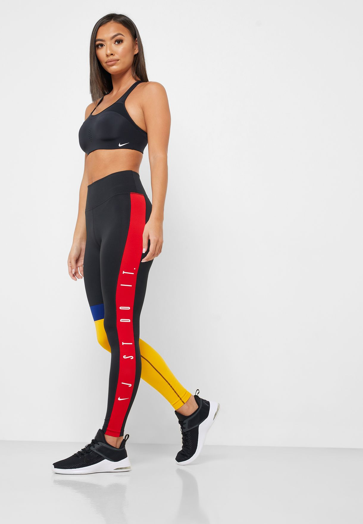 Just Do It 7/8 Colour Block Tights