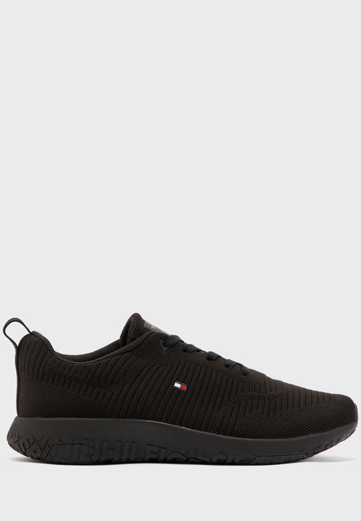 Corporate Knit Rib Sneaker