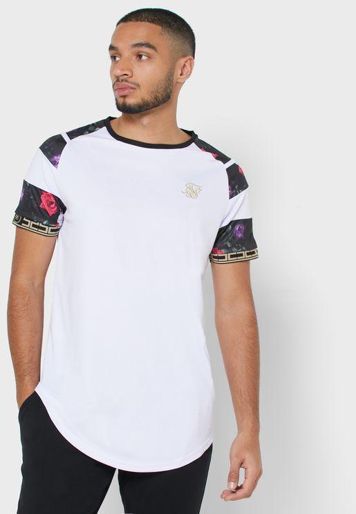 Raglan Sprint Taped T-Shirt