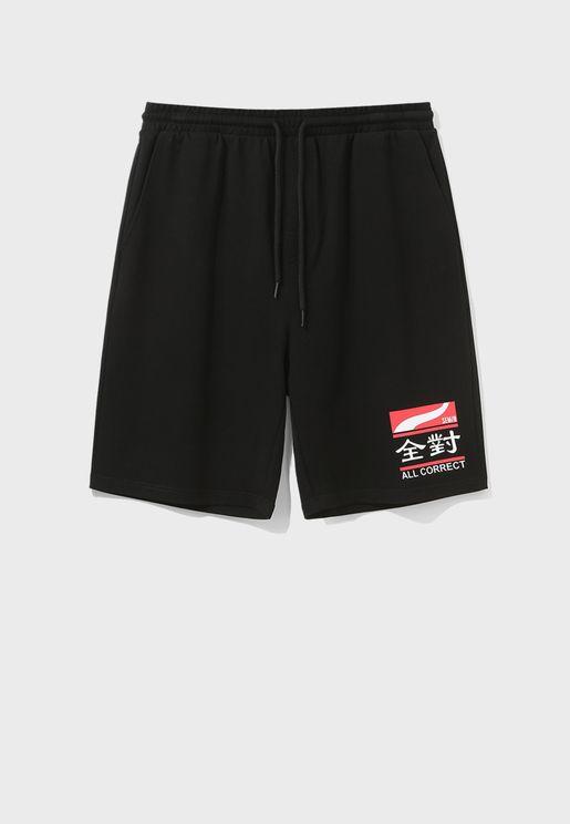 Casual Homewear Plain Shorts