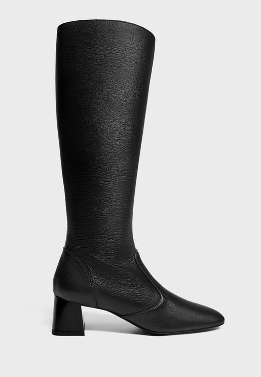 Casual Knee Boot