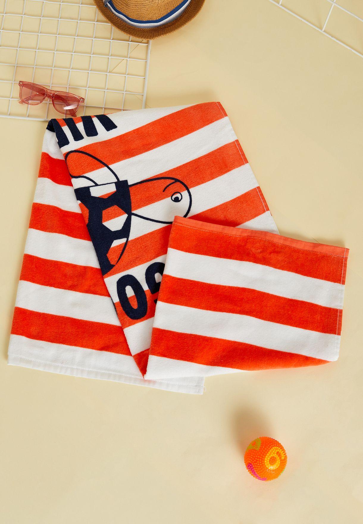 Kids Good Vibes Beach Towel