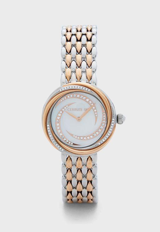 Rieti Steel Strap Watch