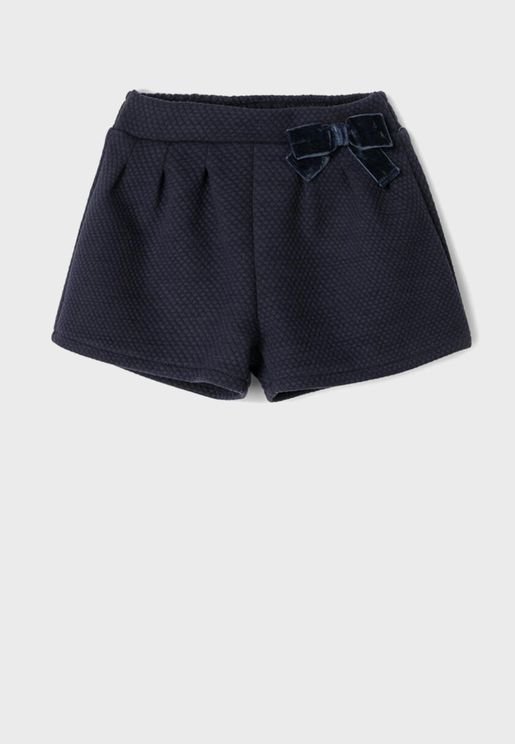 Infant Bow Detail Shorts