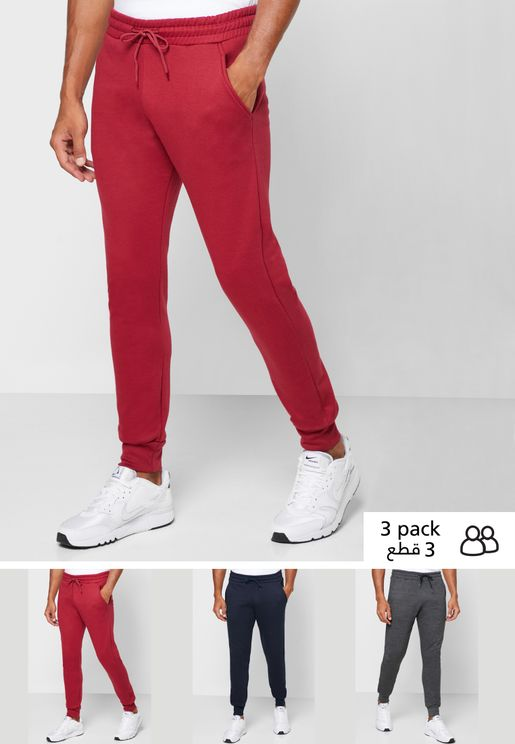 3 Pack Jogger Pants