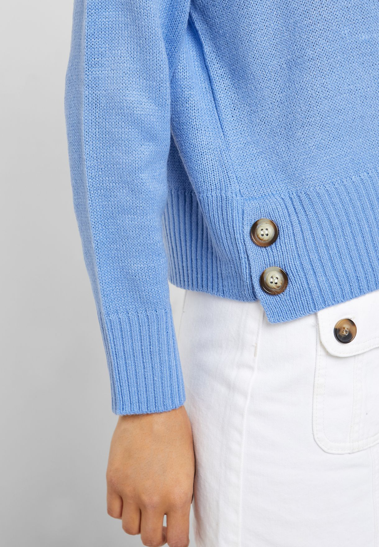 Button Side Sweater