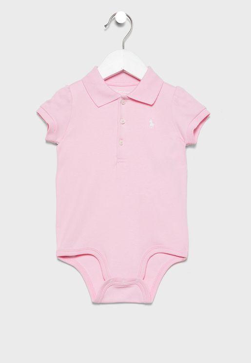 Infant Shirt Look Bodysuit