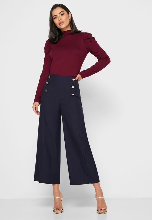 Tr Martina Wide Leg Pants