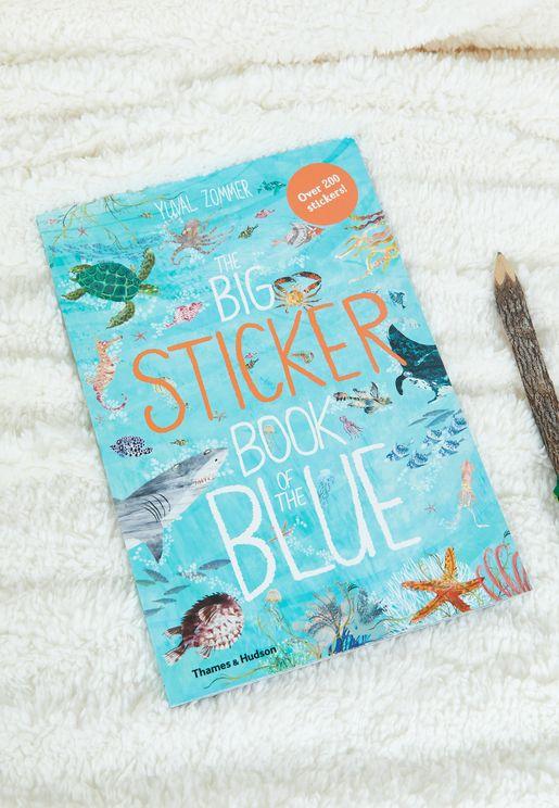 كتاب The Big Sticker Book Of The Blue
