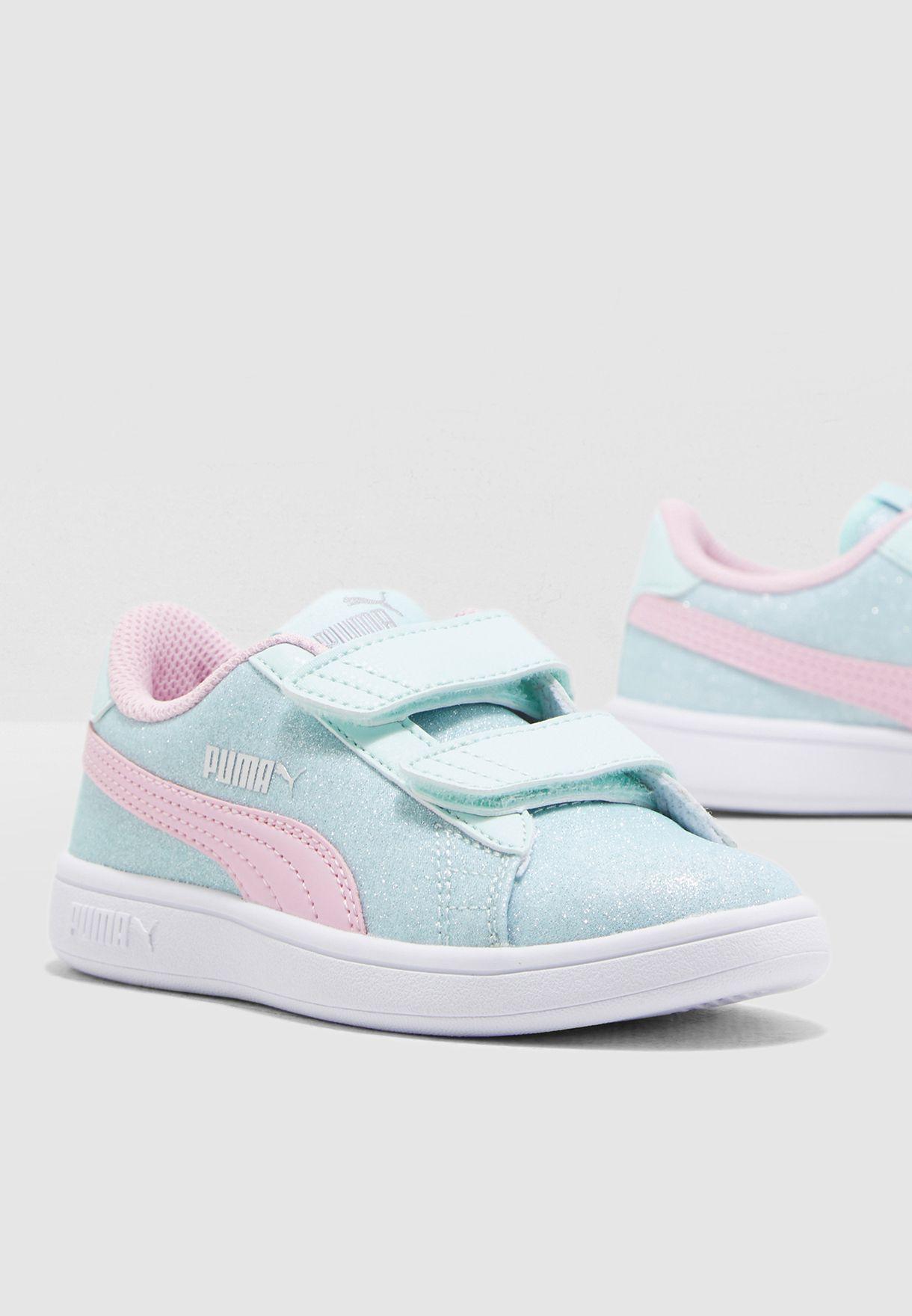Shop PUMA multicolor Kids Smash V2 Glitz Glam V 36737807 for Kids in ... 36fff879a