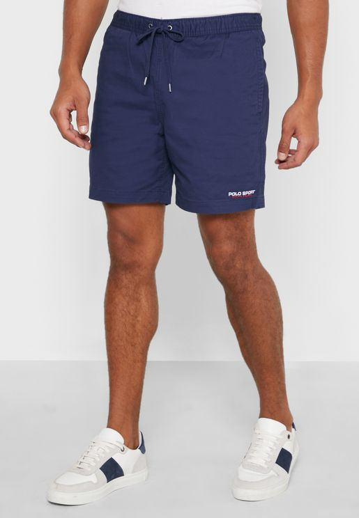 Casual Flat Shorts