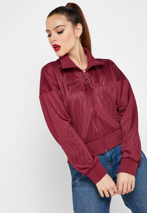 Kiya Embossed Jacket