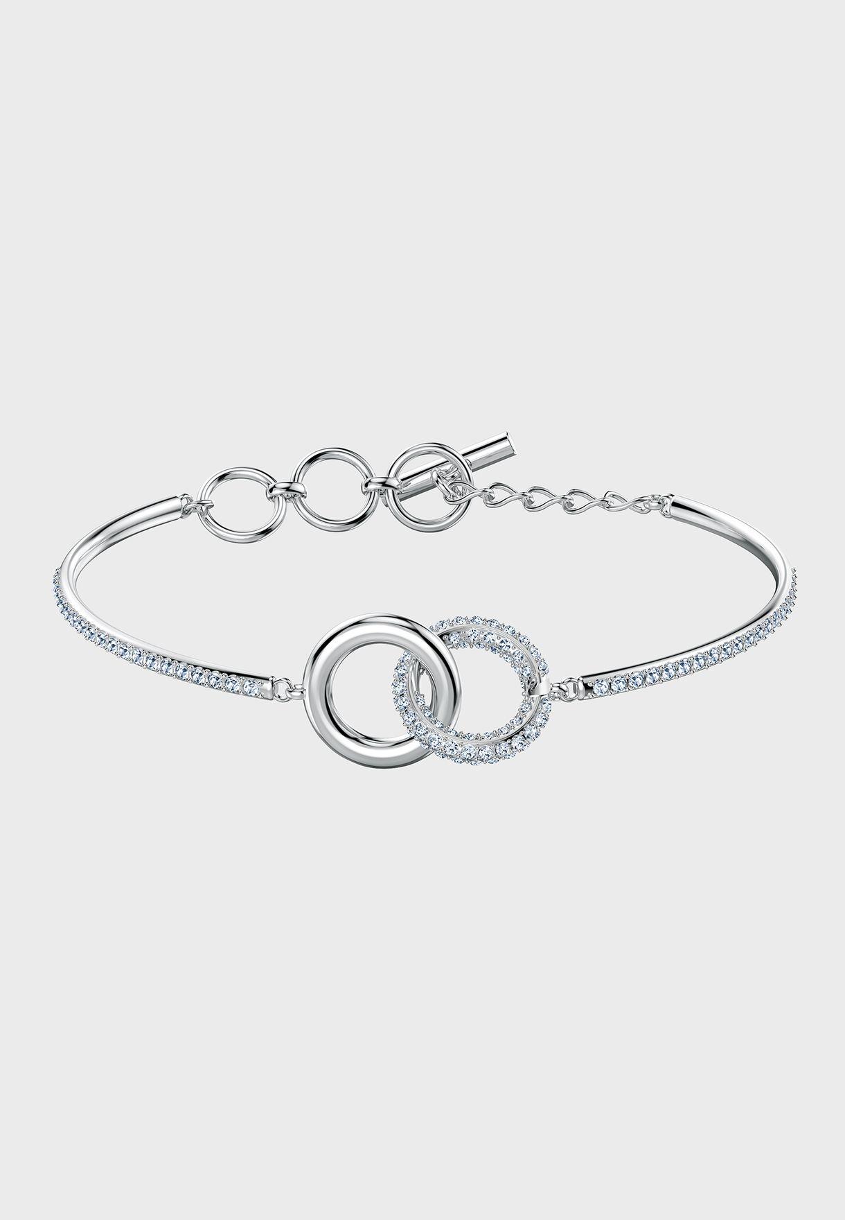 Stone Chain Detail Bracelet