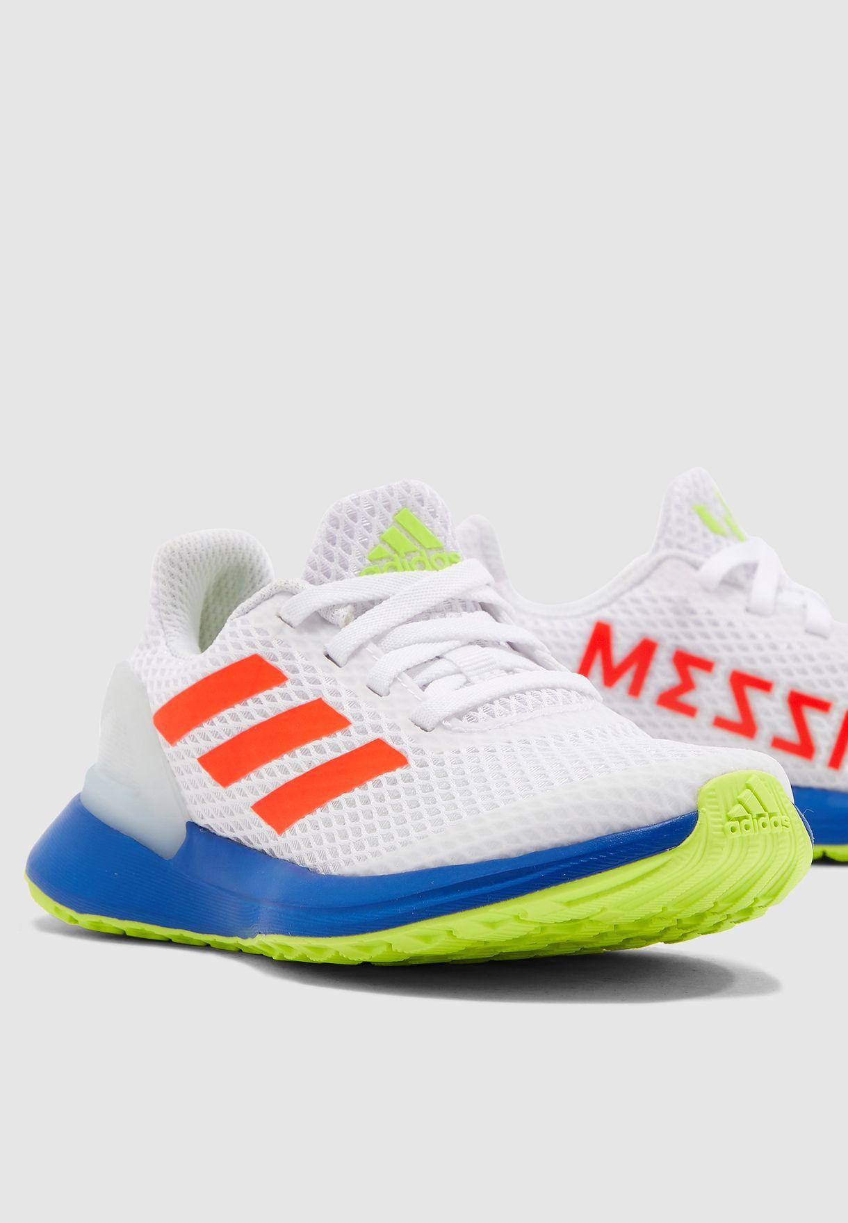 Buy adidas white Kids Rapidarun Messi