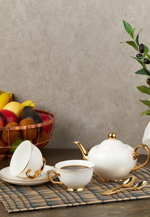 Ivory & Gold Tea Gift Set