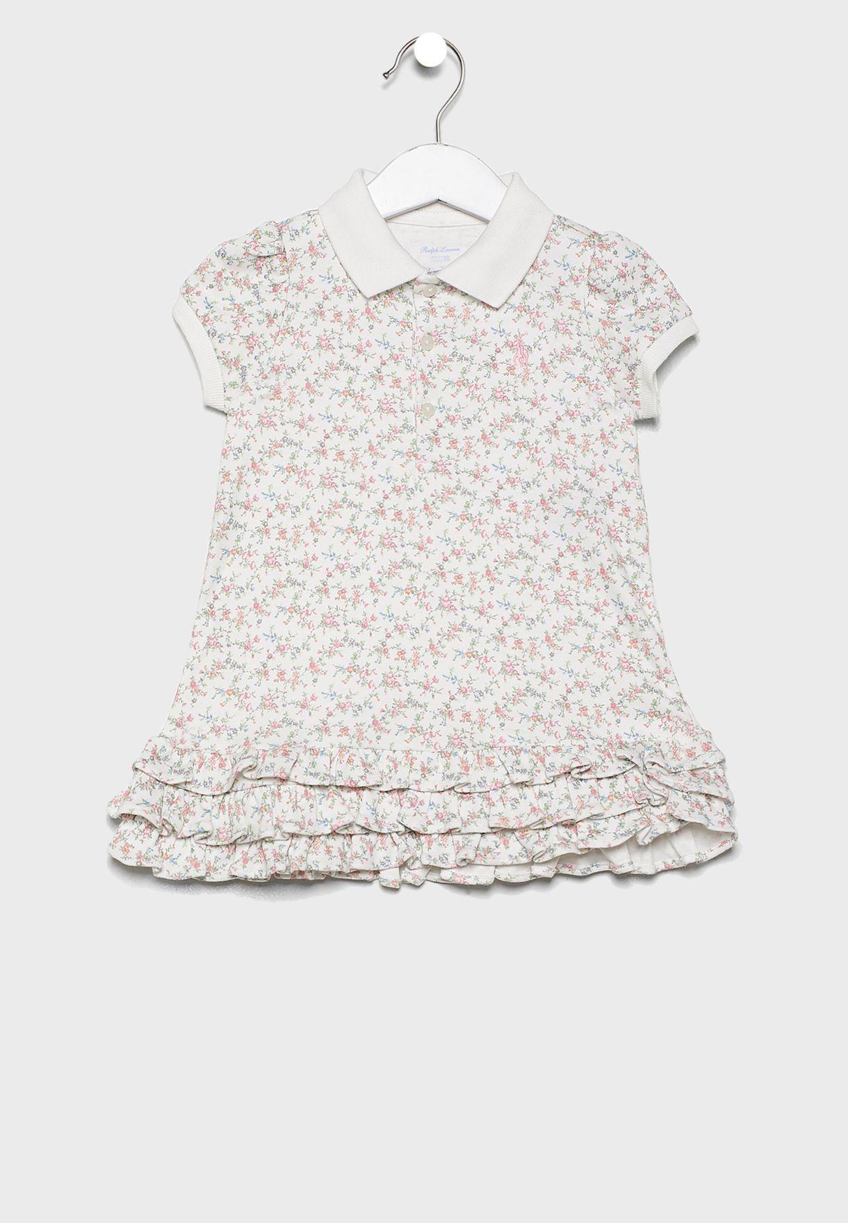 Infant Cupcake Printed Dress