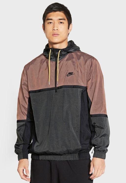 NSW Woven Colour Block Jacket