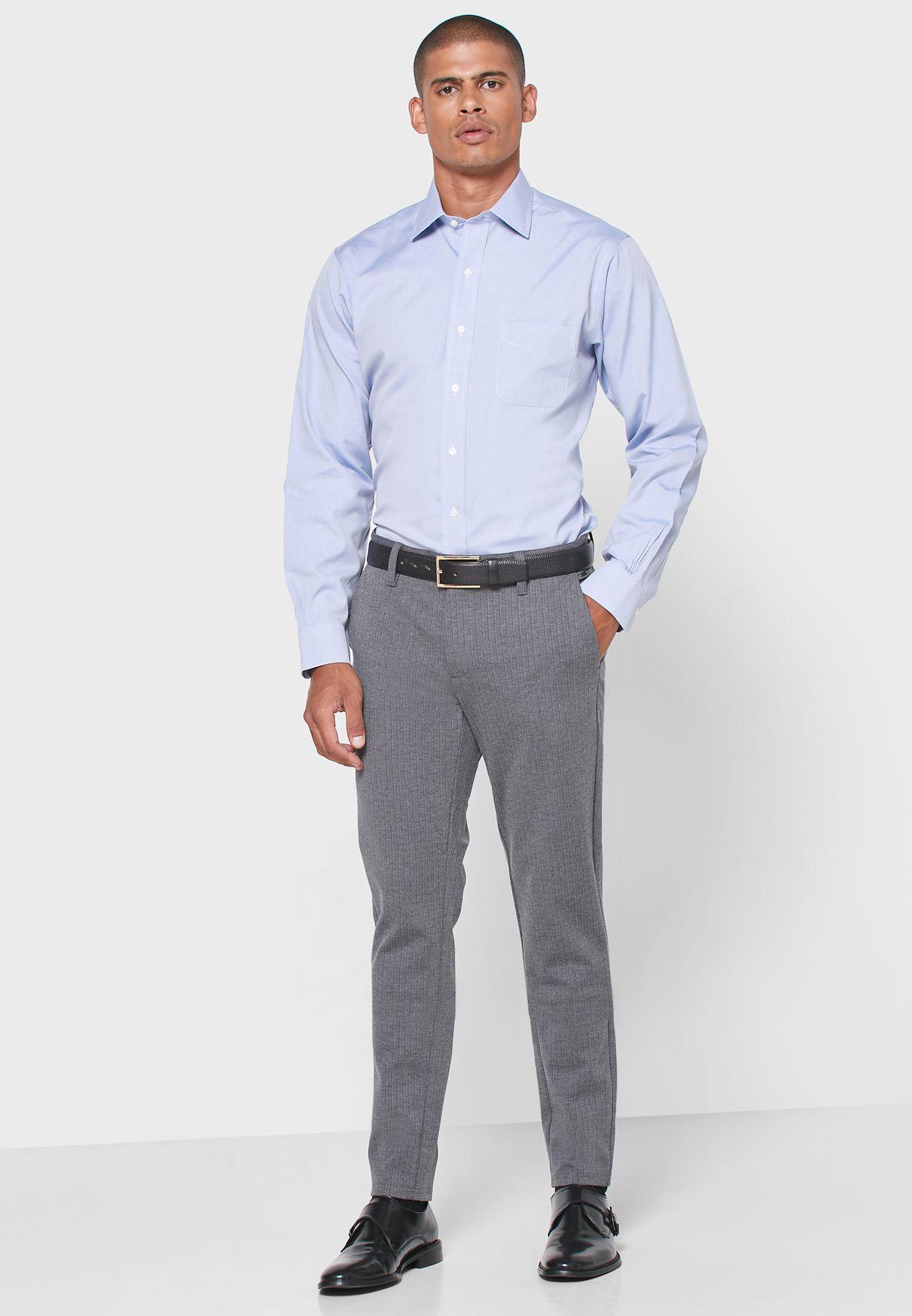 Slim Fit Button Down Shirt