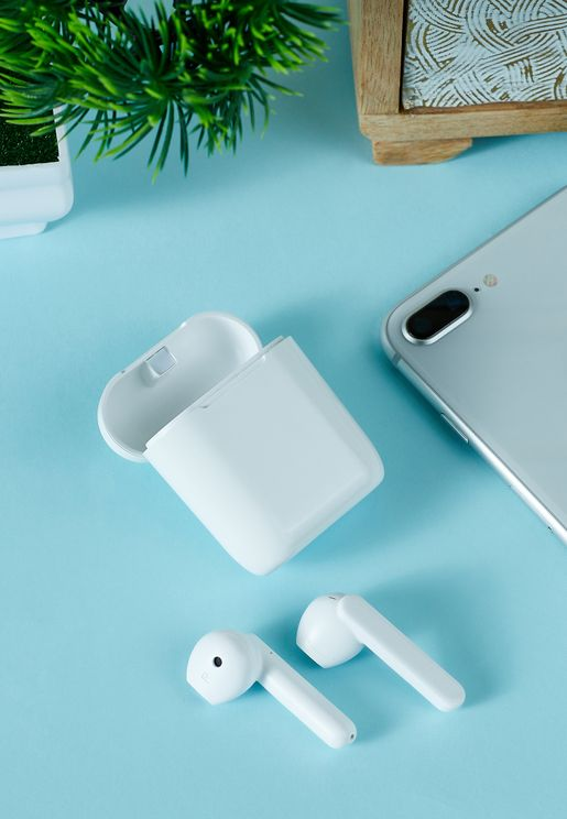 White Earpod Touch