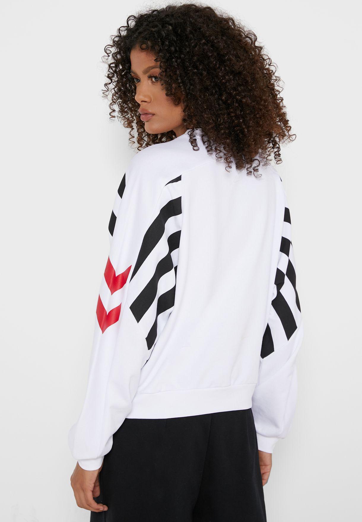 Hvidbjerg Cropped Sweatshirt