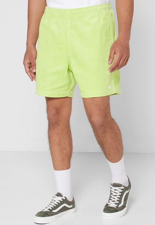 Easy Relaxed Cord Shorts