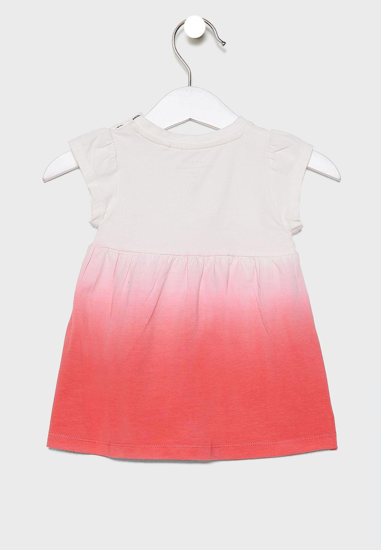 Kids Color Block Dress + Knicker Set