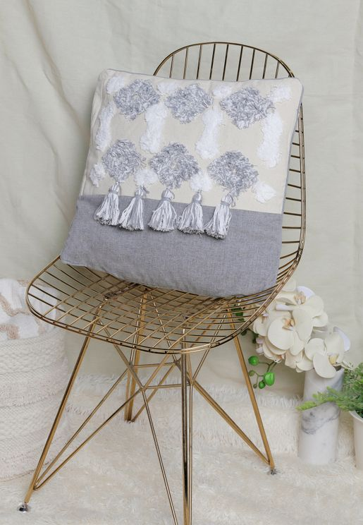 Patterned Cushion With Insert