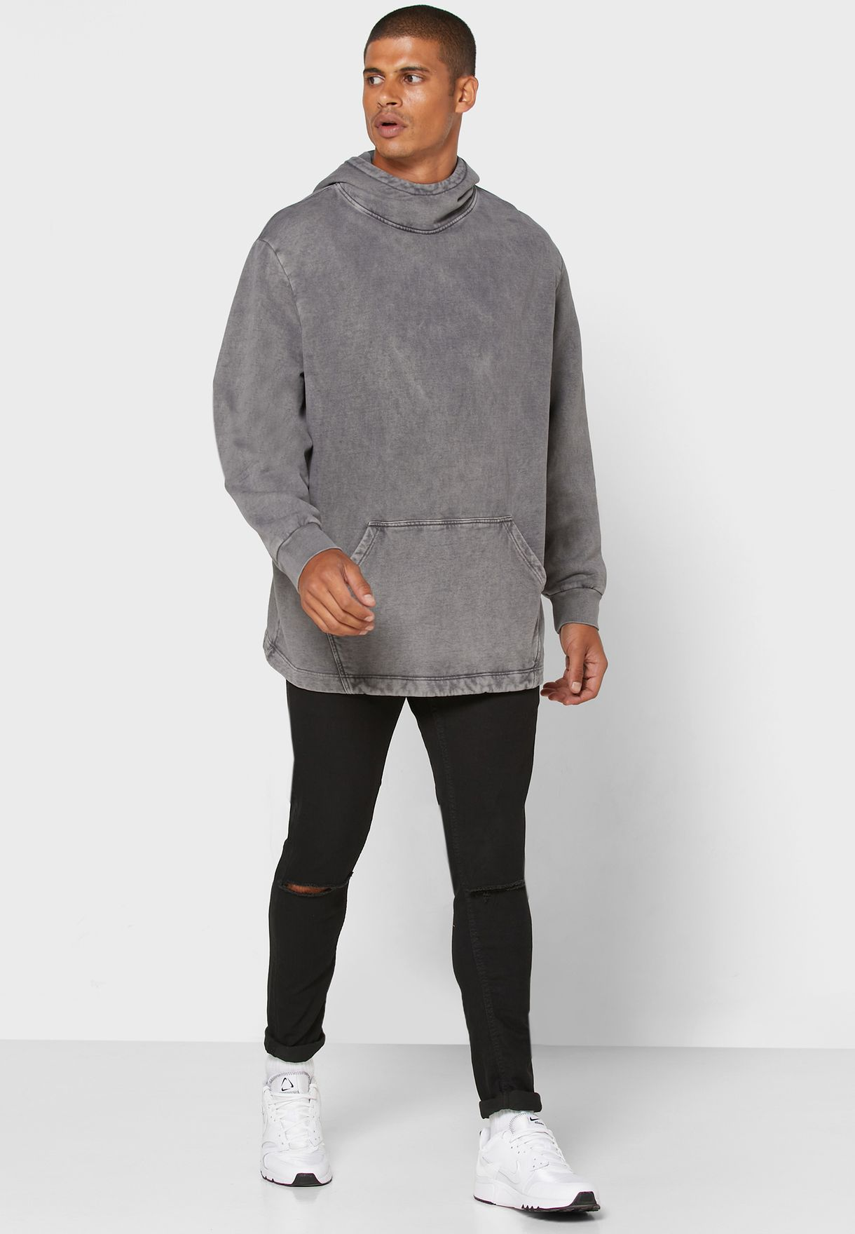 Washed Relaxed Hoodie