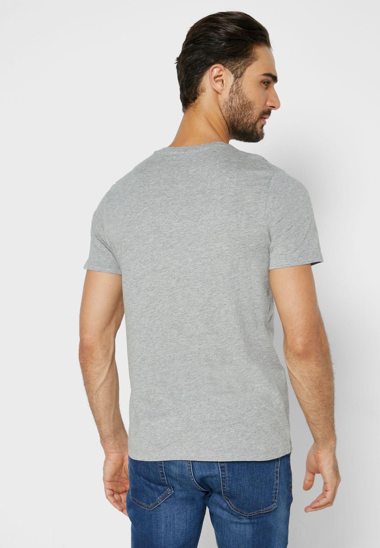 Stein Regular Fit Crew Neck T-Shirt