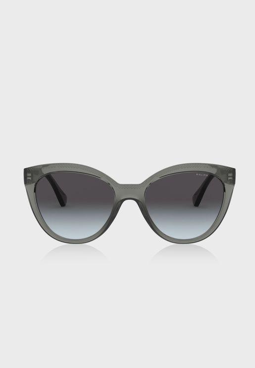 نظارة شمسية نمط عين القطة